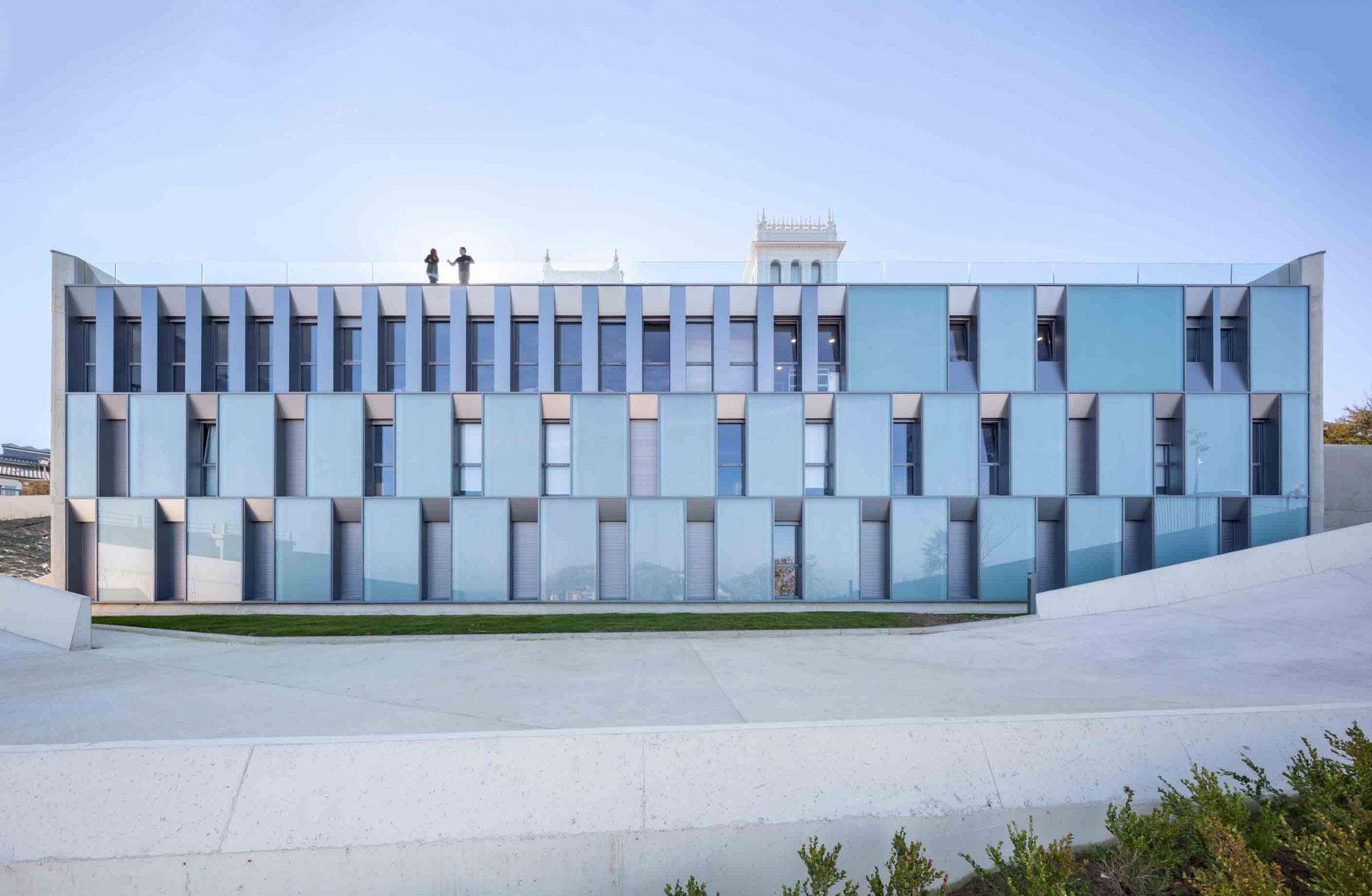 COLEGIO MAYOR JAIZKIBEL - otxotorena arquitectos - arquitectura residencias colegio mayor san sebastián moderno luminoso