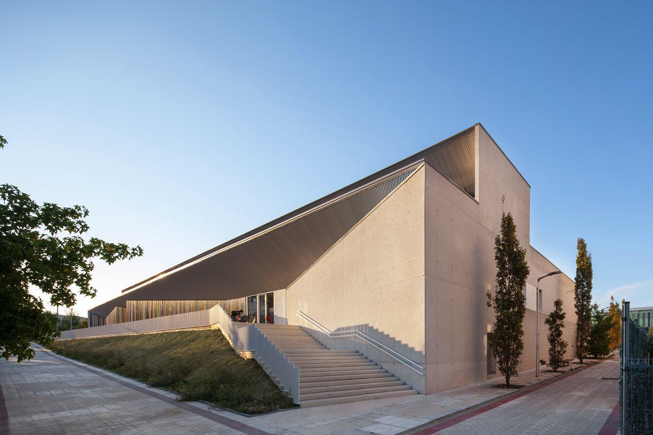 Escuela infantil Guardería Sarriguren Passivhaus Otxotorena arquitectos