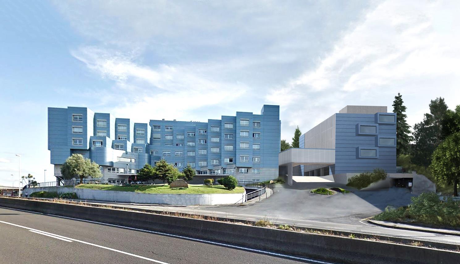 Hospital San Rafael Coruña Arquitectura sanitaria Otxotorena arquitectos 01b