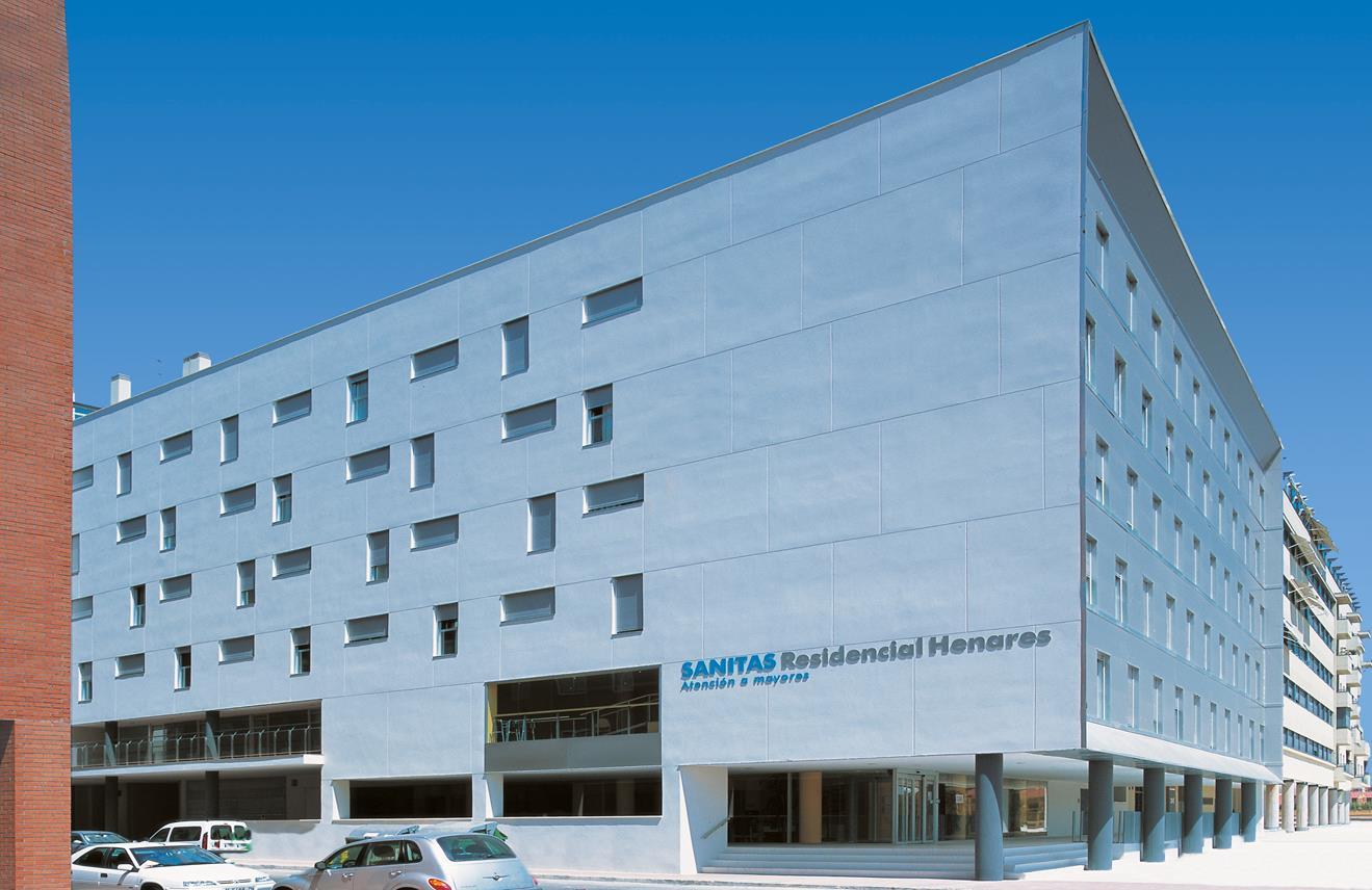 Residencia Sanitas Alcalá de Henares Arquitectura sanitaria Otxotorena arquitectos icono