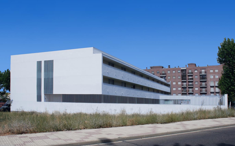 Residencia Sanitas Salamanca Arquitectura Otxotorena arquitectos 01