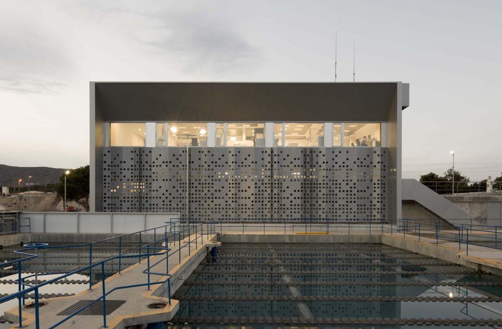 Planta tratamiento de aguas de Benidorm - Arquitectura Industrial - otxotorena arquitectos 02
