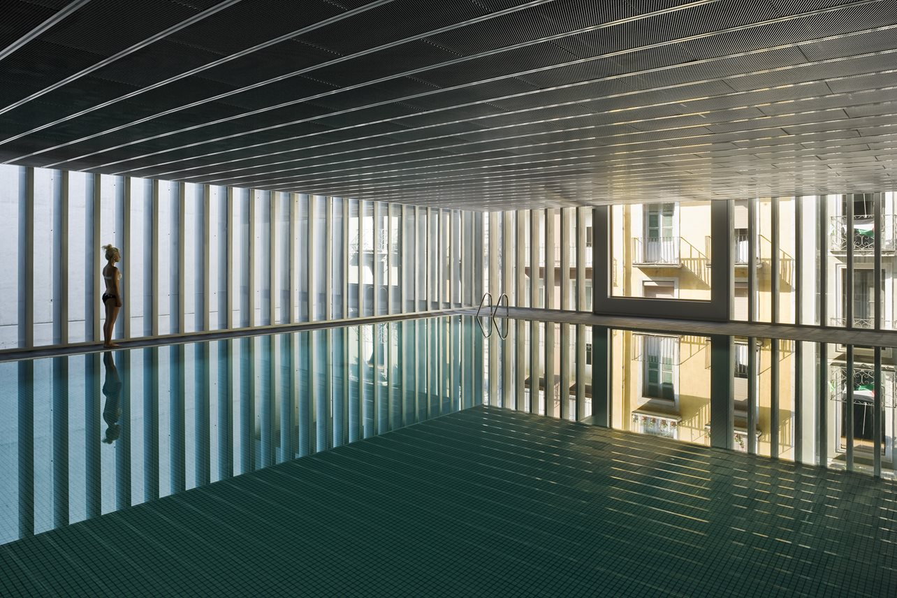 Arquitectura deportiva - CENTRO HIDROTERMAL 'AQUAVOX' Pamplona