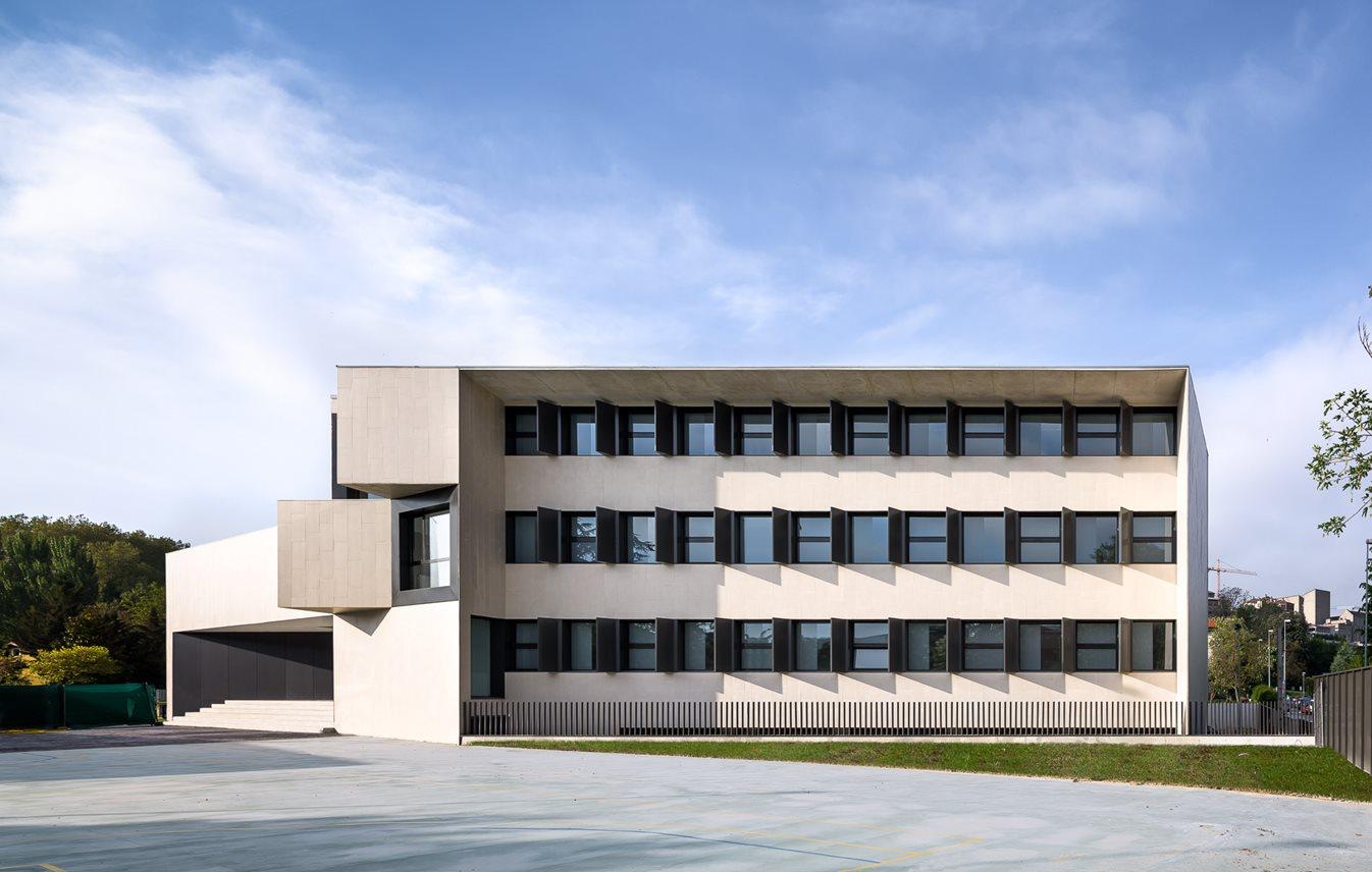 Colegio el Redín otxotorena arquitectos arquitectura docente 06