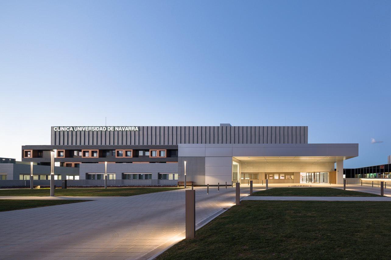 CLÍNICA UNIVERSIDAD DE NAVARRA MADRID - otxotorena arquitectos - arquitectura hospitales - 13